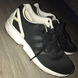 Black adidas ZX flux